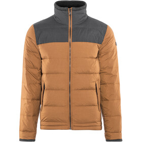 Bergans M's Oslo Down Light Jacket Men Dark Copper Mel/Dark Navy Mel